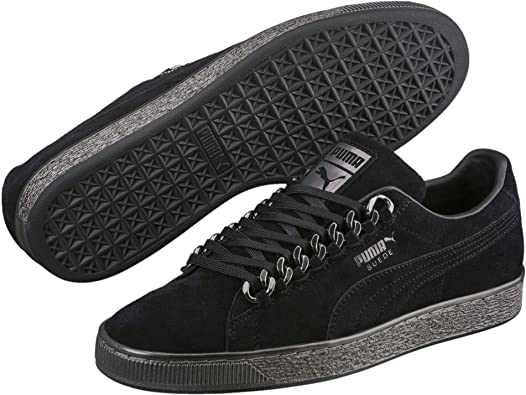 PUMA Suede Classic X Chain Femme Baskets Mode Noir: Amazon