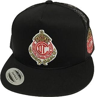 Club Deportivo Toluca 2 Logos Hat Black Mesh Snapback