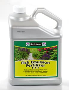Ferti-Lome 10614 Fish Emulsion Fertilizer 1 Gallon 5-1-1