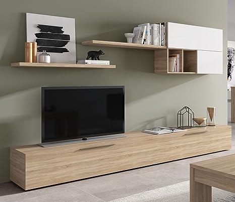 Mobile soggiorno set parete porta TV design casa salotto salone ...