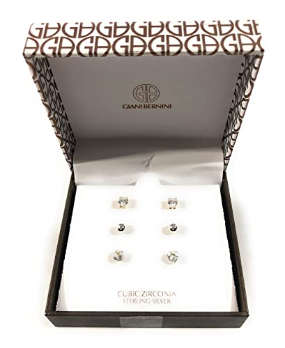391a3a2e6 Image Unavailable. Image not available for. Color: Giani Bernini Sterling  Silver Cubic Zirconia Earrings