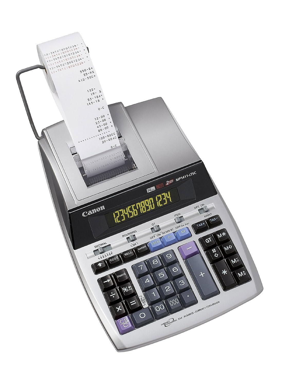 Canon MP1411-LTSC Scrivania Calcolatrice con stampa Argento calcolatrice 2497B001