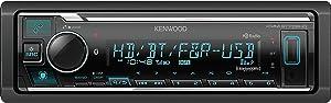 Kenwood KMM-BT728HD Bluetooth Digital Media Receiver Supports Amazon Alexa