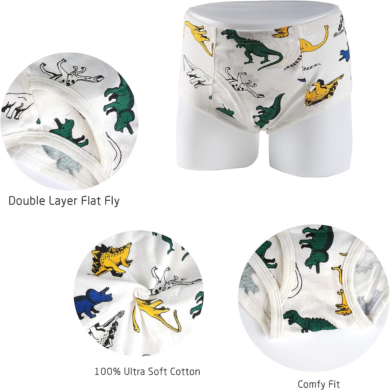 Evercute Boys Cotton Briefs Underwear Cool /& Dry Multipack Toddlers Kids Undies Panties