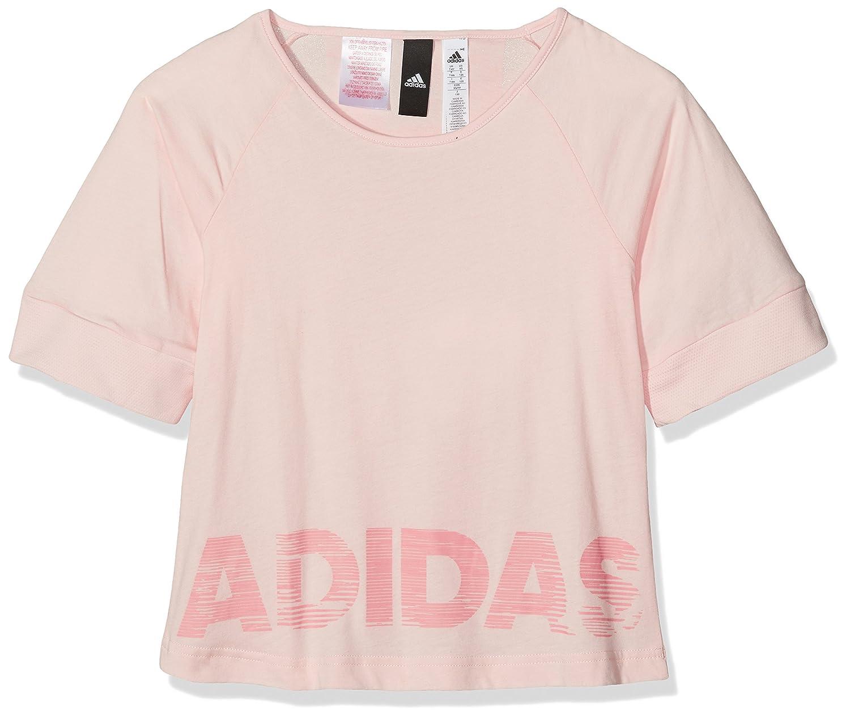 adidas Girls' Yg Id Lin-cf0968 T-Shirt