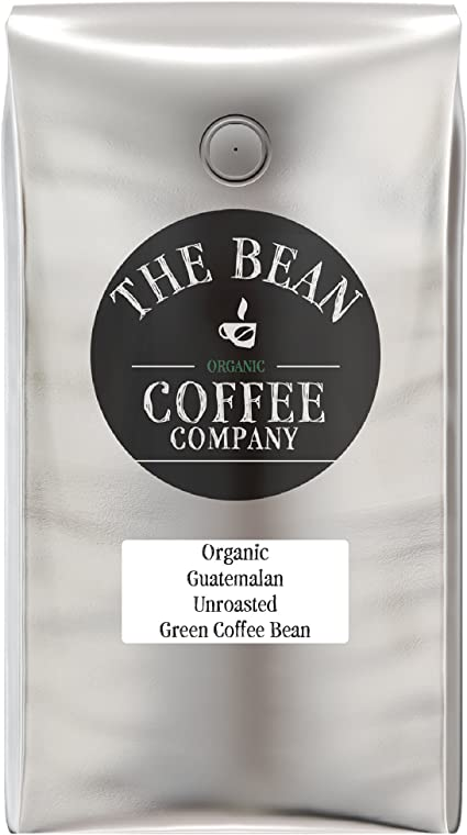 The Bean Coffee Company Organic Unroasted Green Coffee Beans