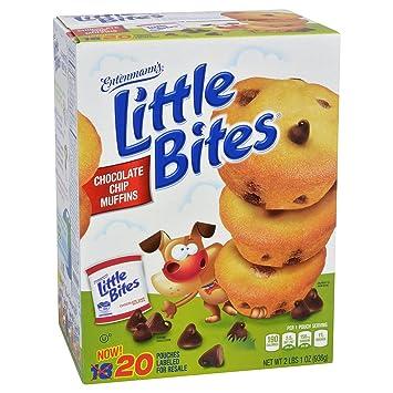 Entenmanns Little Bites Chocolate Chip Muffins 20 Ct Amazon
