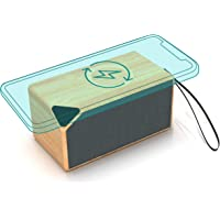 Portable Mini Bluetooth Speaker with Wireless Charger,Outdoor Bluetooth Speaker with Qi Wireless Charging Pad Compatible…