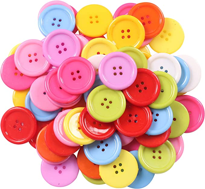 Embellishments 5 x Plastic Faceted CAR BUTTONS Sewing Buttons Scrapbooking.