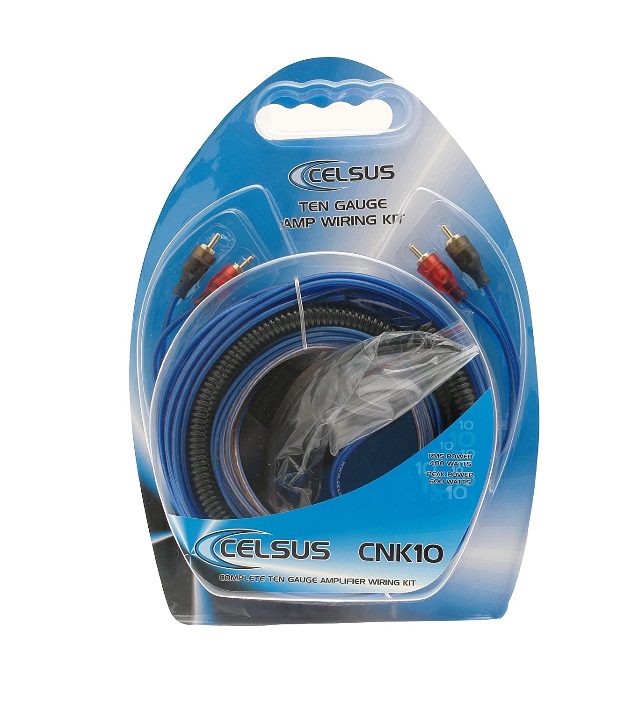 Celsus CNK10 Ten Gauge AMP Wiring Kit: Amazon.co.uk: Car & Motorbike