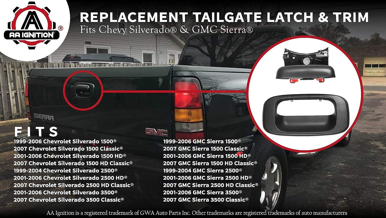 New Rear TAIL GATE HANDLE For Chevy,GMC Silverado,Sierra