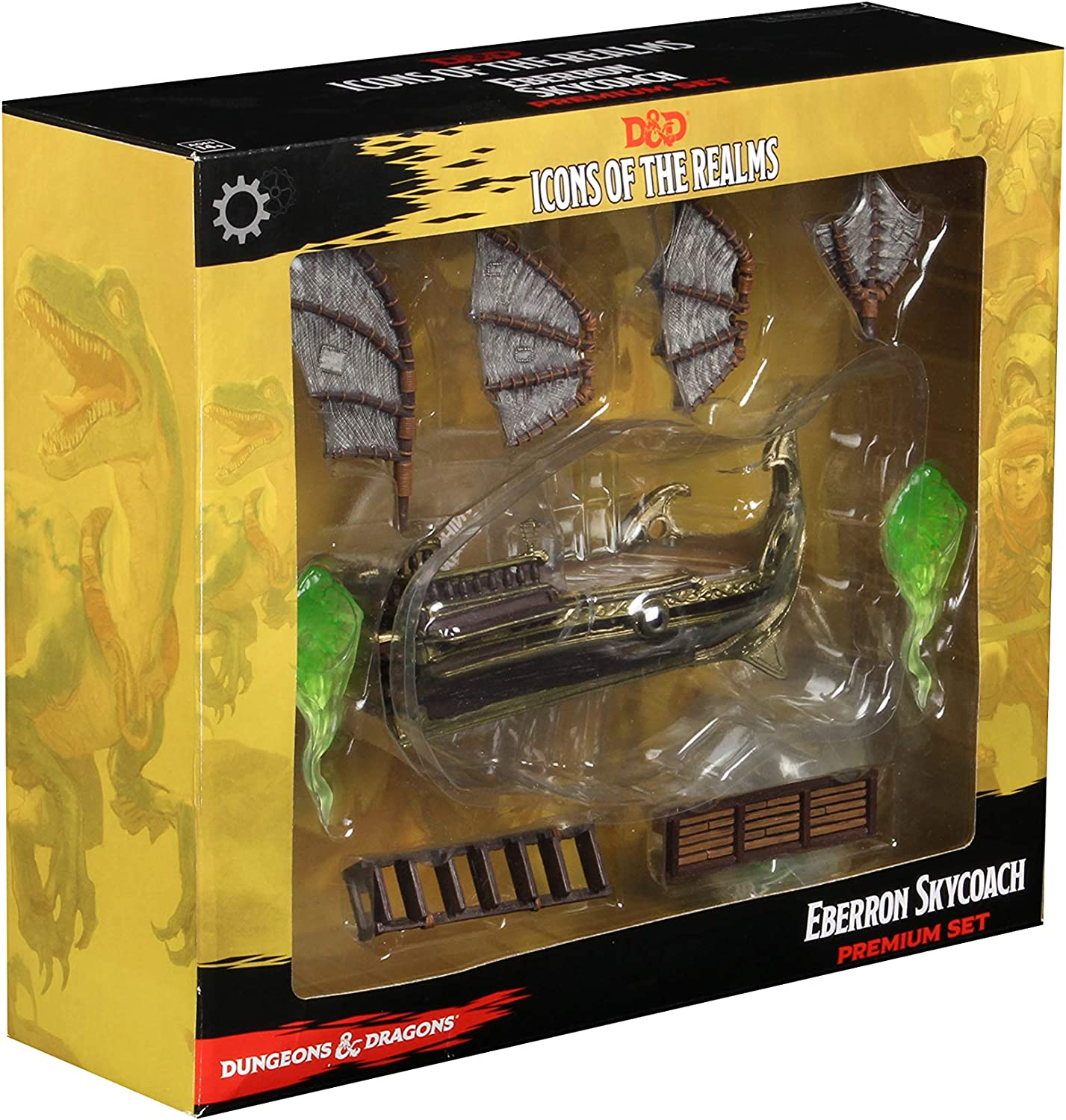 WizKids D&D Icons of The Realms: Eberron: Rising from The Last War Premium Set - Skycoach