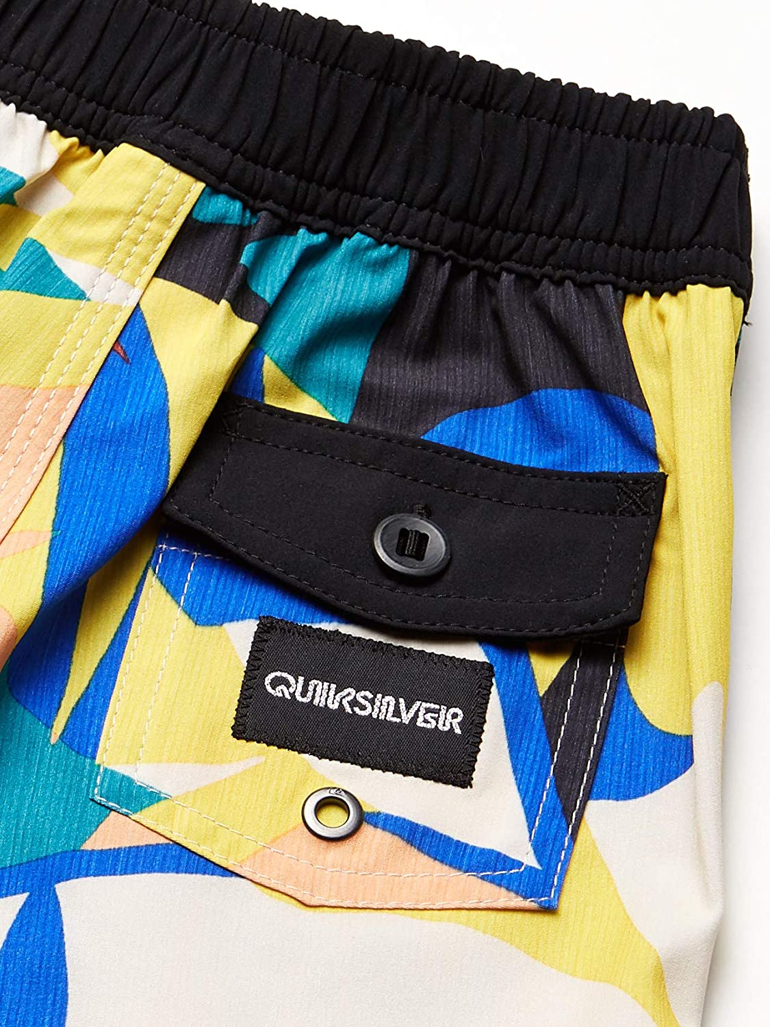 Quiksilver Boys Little Highline Tropical Flow 14 Boardshort Swim Trunk