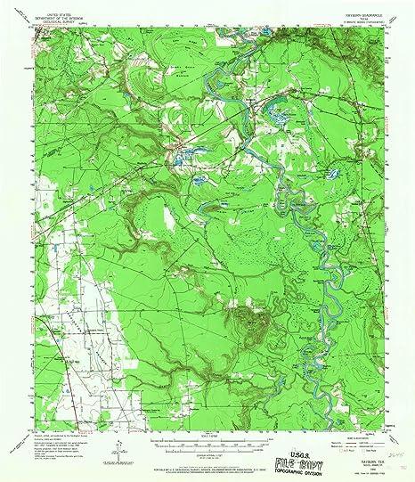 Texas Elevation Tint Map