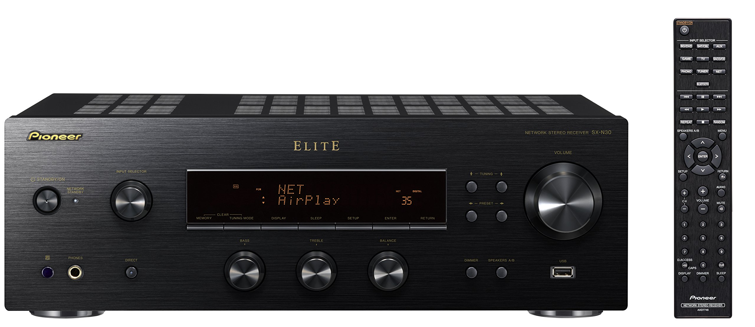 Pioneer Elite SX-N30 Network Stereo Receiver with Built-in Bluetooth by Pioneer