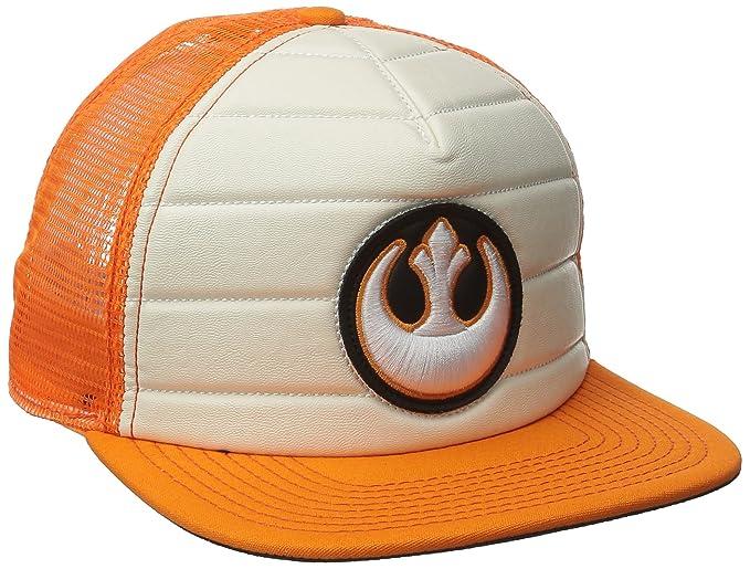 fd4c8a0bdc1bf Amazon.com  Star Wars Rebel Alliance Adult Trucker Hat  Clothing