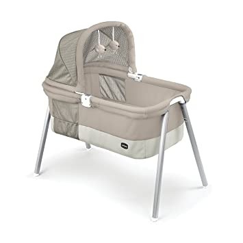 Amazon Com Chicco Lullago Deluxe Portable Bassinet Taupe Baby