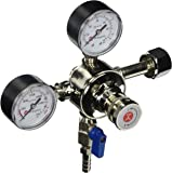 Kegco Premium Pro Series Dual Gauge Co2 Draft Beer Regulator