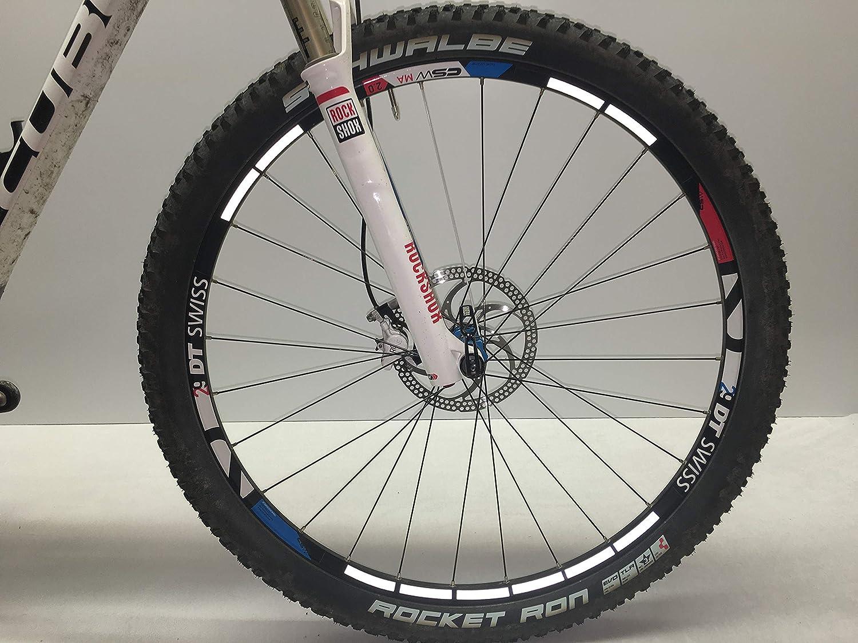 reflexsticker Dreiecke6 Farbenreflektierende AufkleberReflektor Fahrrad