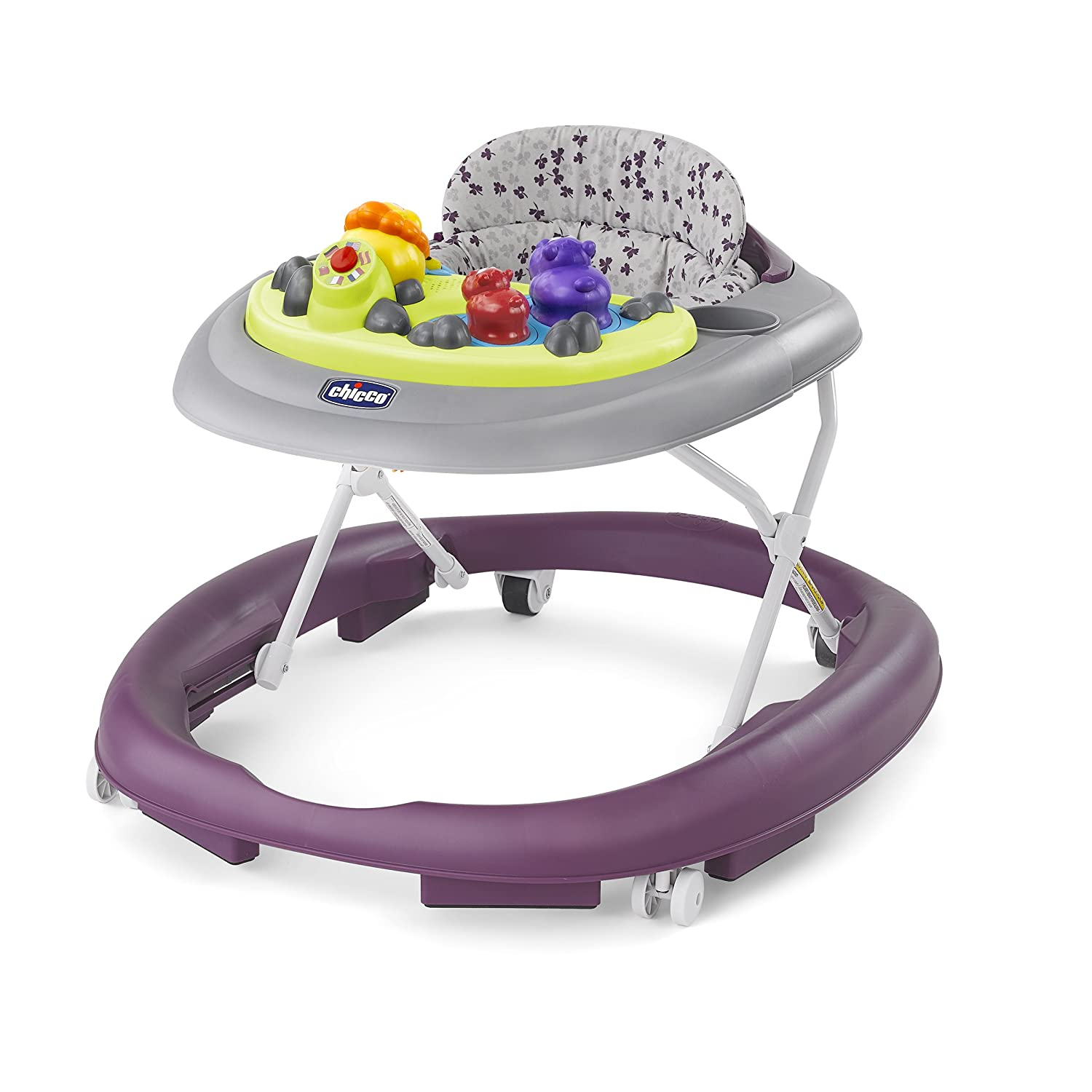 Chicco Walky Talky Baby Walker, Flora 00079540680070