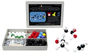 Molecular Model Kit Biochemistry - Chemistry Organic and Inorganic Modeling Students Set (125 Pieces)