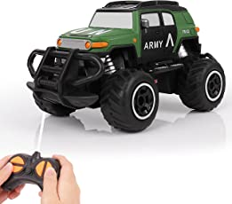 Remote Control Cars, UOKOO Remote Control Mini RC Off Road Vehicles with Steering Alignment, Toys for boys and Girls, Gift for boys and girls