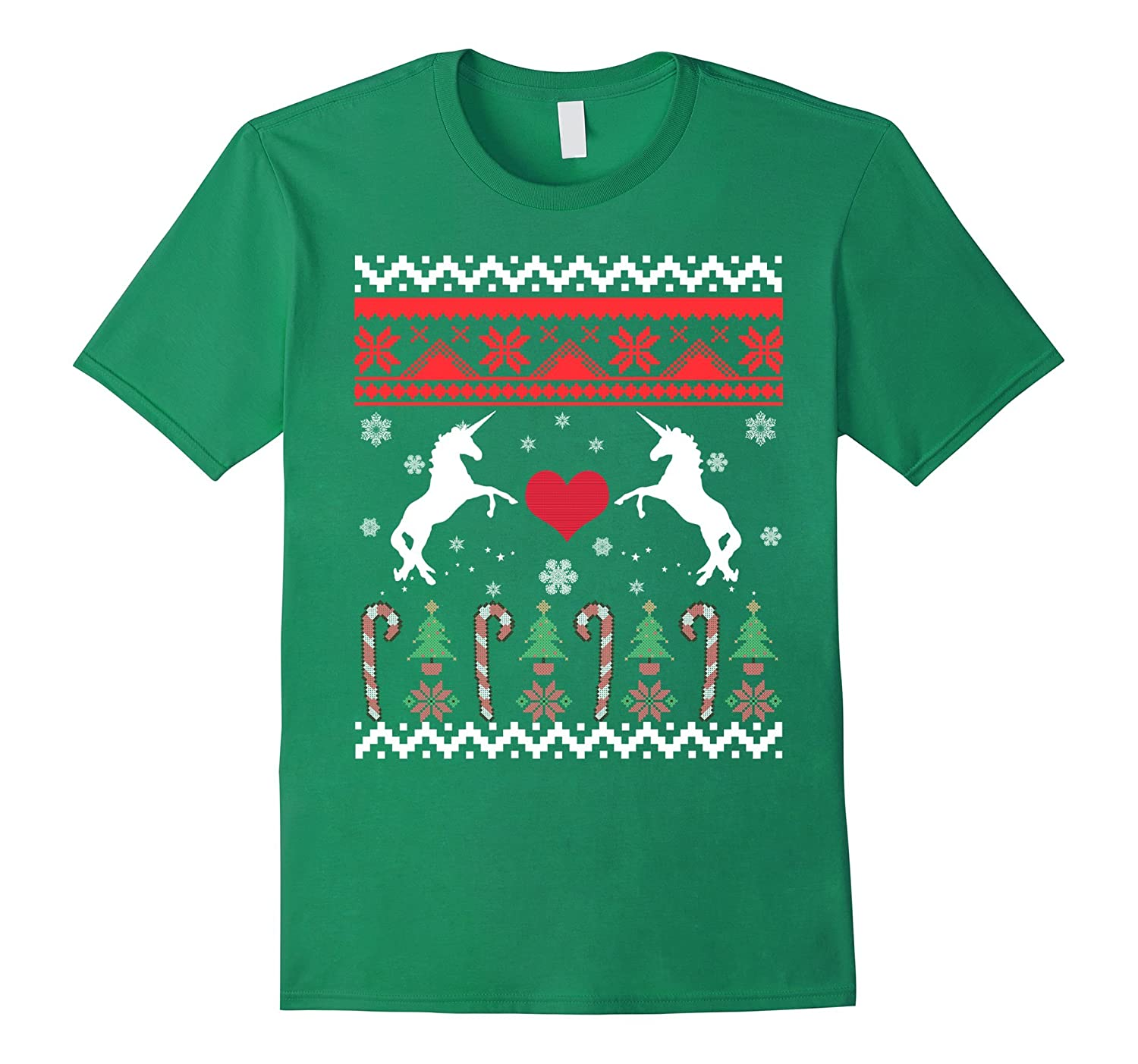 Unicorn Ugly Christmas Sweater T-Shirt
