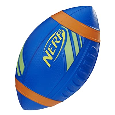 Nerf Sports Pro Grip Football (blue football): Toys & Games