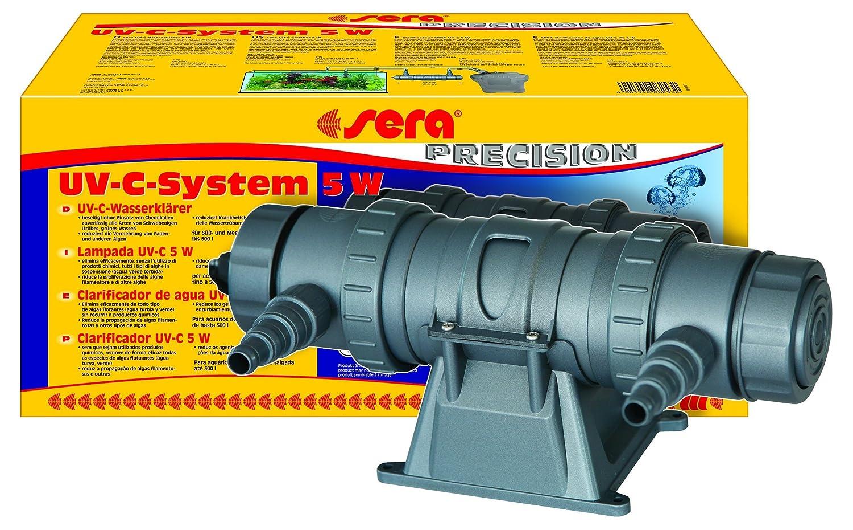 Sera (8253 UV C Sistema de 5 W Un depuradora de Agua de Alto Rendimiento UV-C contra el Agua Verde, contra Algas y contra Enfermedad erreger: Amazon.es: ...