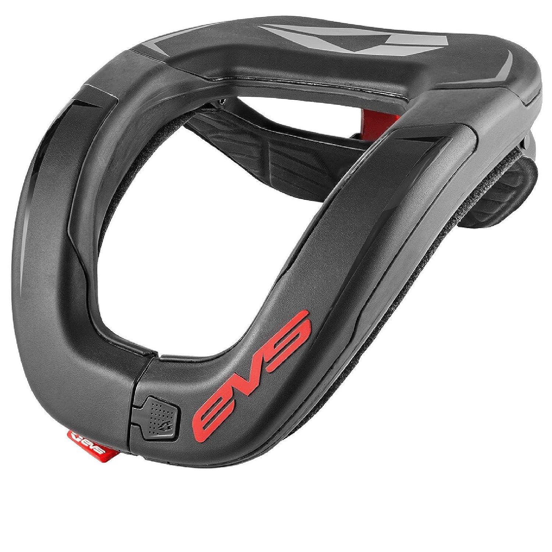 EVS R4 Neck Support Brace Collar Genick Schutz MX Erwachsene Kinder Moto Cross, R4-BK, Grö ß e Erwachsene - Adult Größe Erwachsene - Adult