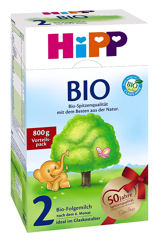 Hipp Bio 2 Folgemilch - ab dem 6. Monat - 7er Pack (7 x 800g)