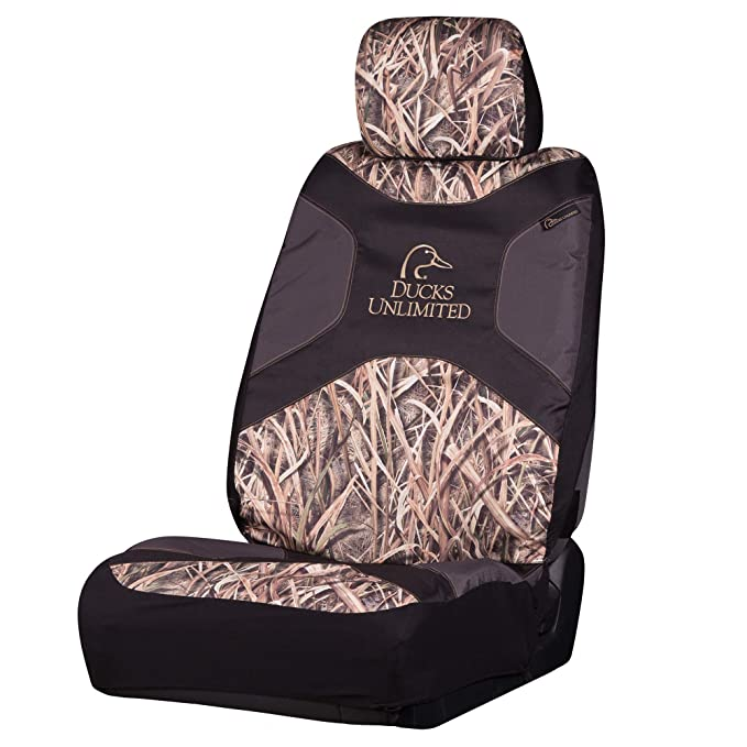 Ducks Unlimited Seat Covers >> Amazon Com Ducks Unlimited Camo Seat Cover Low Back Shadow