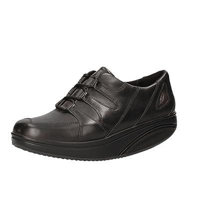 MBT Sneakers/Basket Mode Femme Cuir (37 EU, Noir)