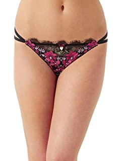 2cd8f23d90fe1 Lipsy Womens Multicoloured  Bethan  Floral Lace Bikini Briefs 14 ...