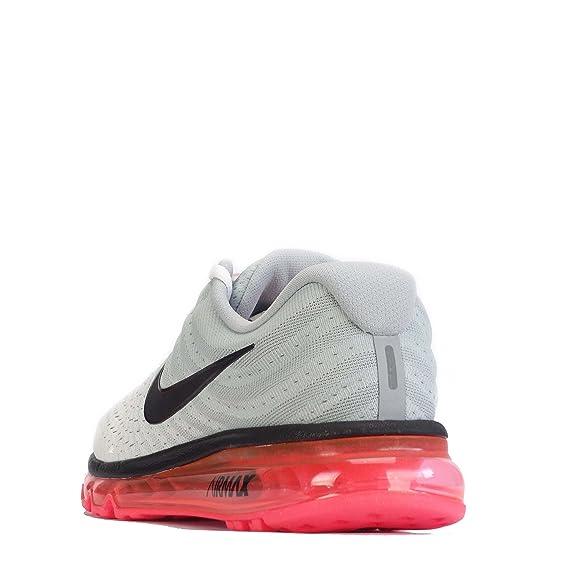 Nike Air Max 2017, Sneaker Uomo WhiteBlackWolf Grey