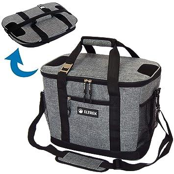 Amazon.com: Eltrek - Bolsa térmica plegable con bolsillos y ...