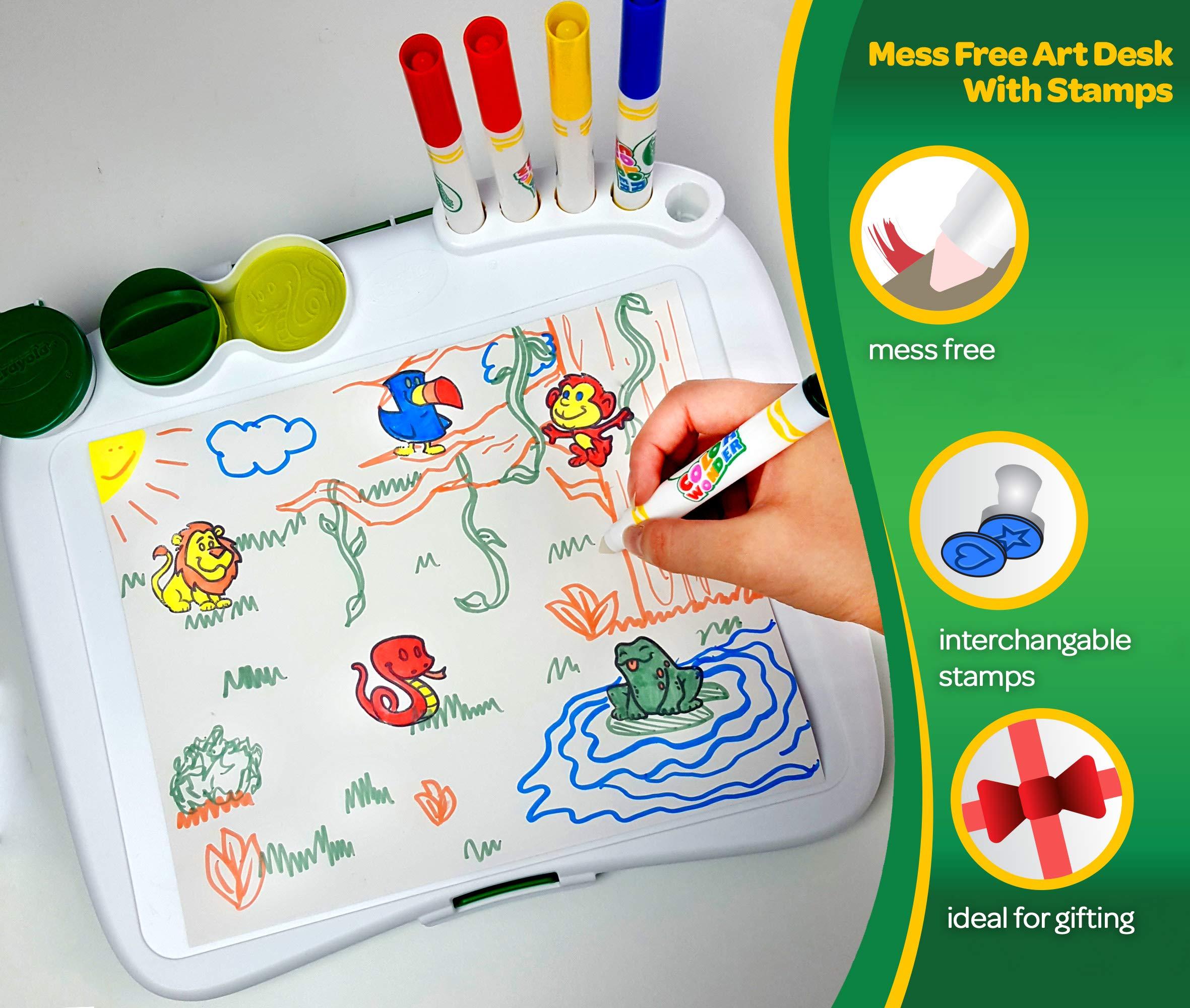 Crayola Color Wonder Mess Free Coloring Desk - Toys
