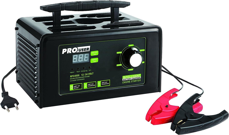 Pro User 18139 Rfc4500 12v Und 24v 30 Amp Intelligentes Batterieladegerät Auto