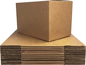 uBoxes 15 Small Moving Boxes - 16x10x10 - Cardboard Box