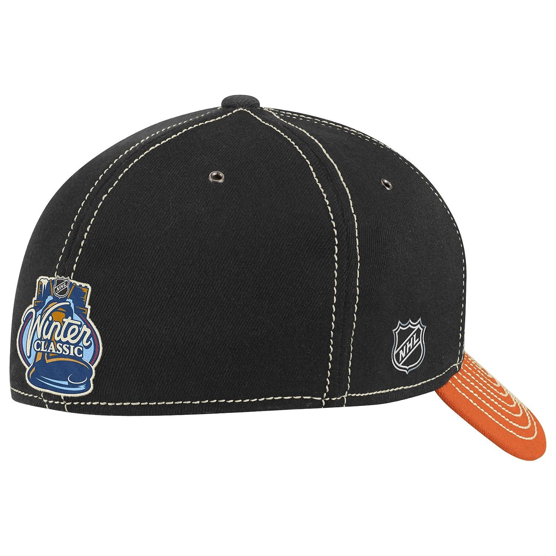 32a86cca3 Amazon.com   NHL Philadelphia Flyers Winter Classic Structured Flex Fit Hat