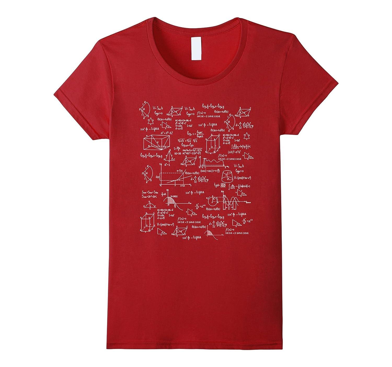 Funny Math Equation Shirt I Love Math Lover Shirts Gifts
