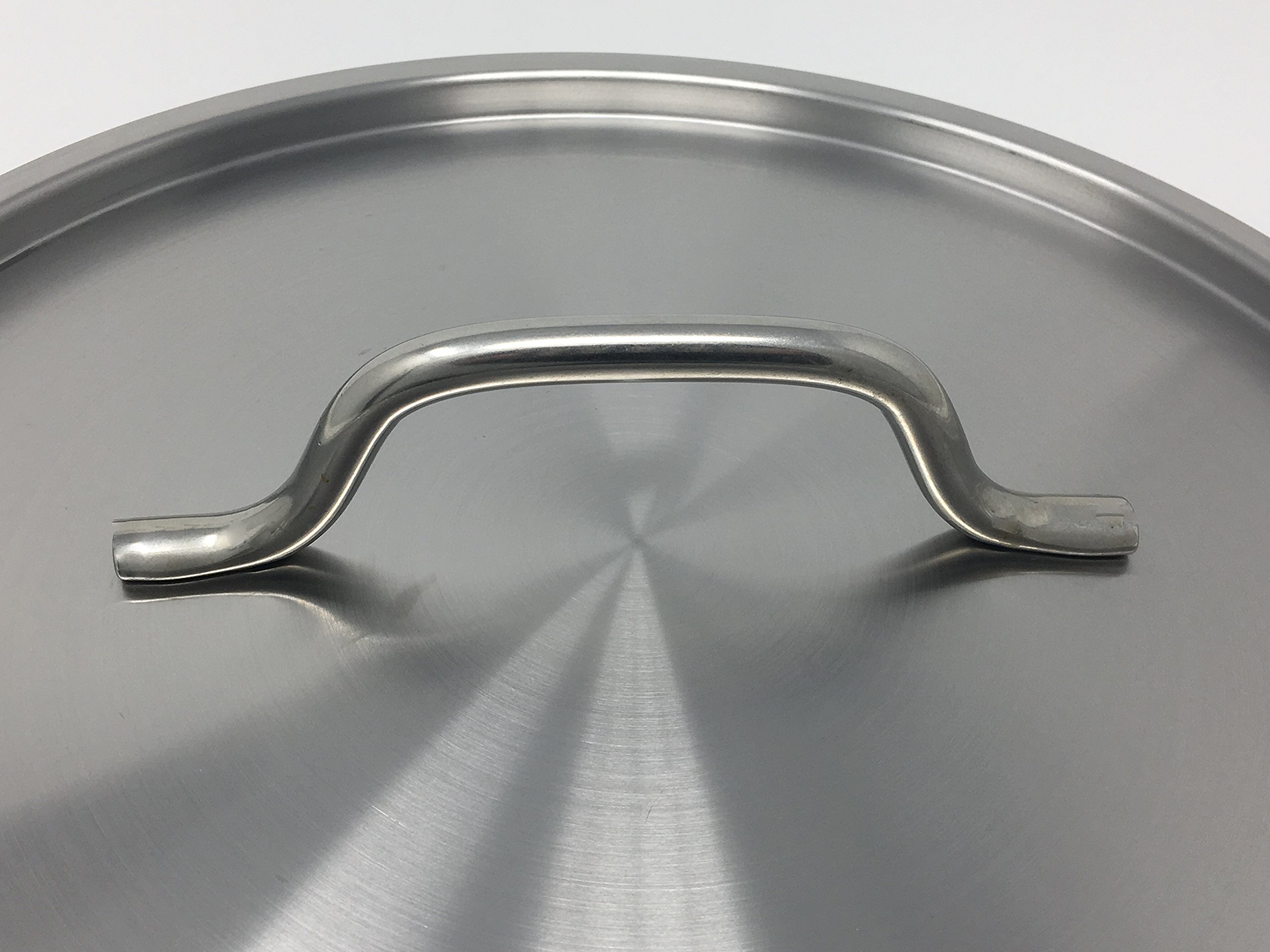 Update International (SPS-40) 40 Qt Induction Ready Stainless Steel Stock Pot w/Cover by Update International (Image #3)