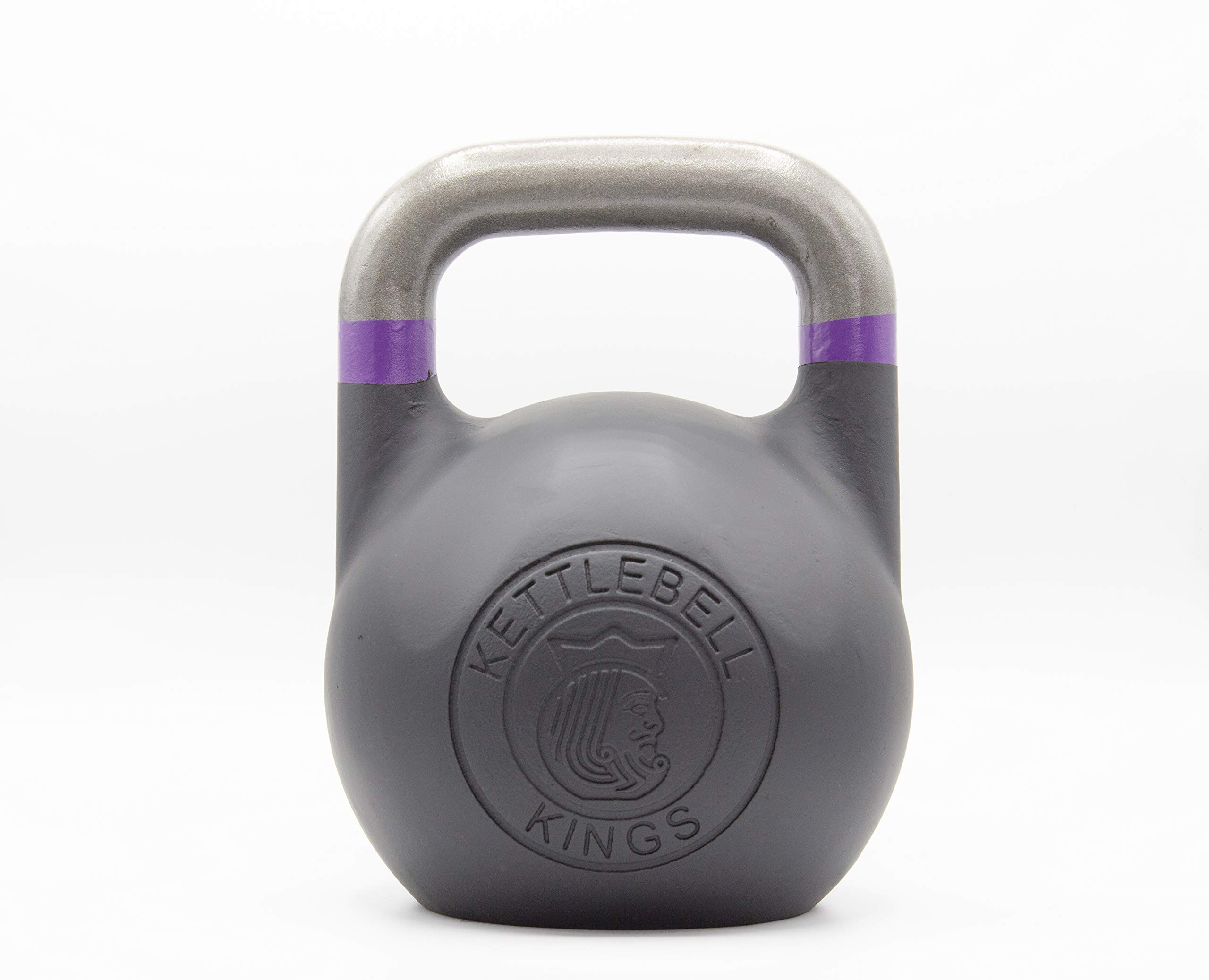Kettlebell Kings | Kettlebell Weights | Competition Kettlebell Weight Sets for Women & Men | Built in American Style | Same Size & Dimension Across All Weights (45)