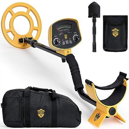 ToolGuards Metal Detector with Carry Bag & Shovel (Newest 2019 Model) Metal  Detectors for Adults
