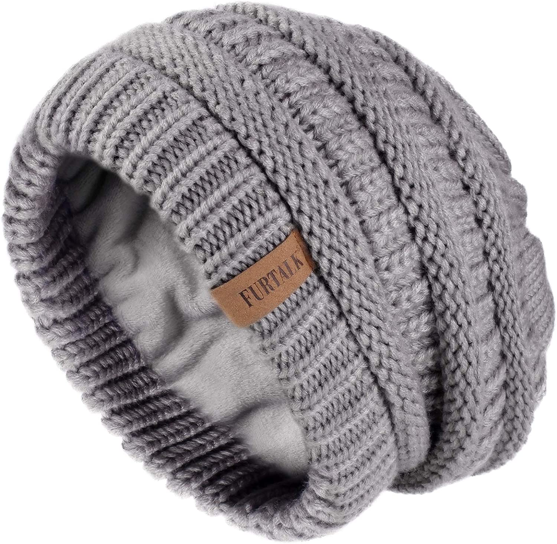 New Raccoon Faux Fur Ball Pom Beanie Bobble Ski Hat Cap Knit Warm *LICK*