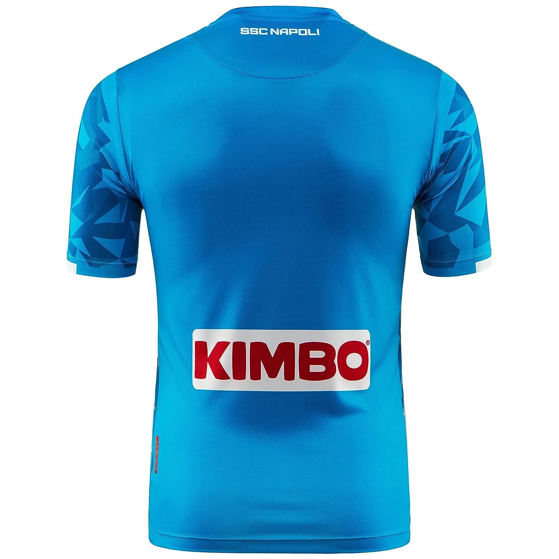 11cb96d367fcb Amazon.com  Kappa Napoli SSC Replica Home Shirt 2018-19 Original  Clothing