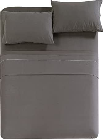 100/% Egyptian Cotton 1000 TC Sheet Set//Donna Set//Fitted All US Size White Solid
