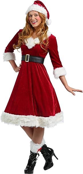 Amazon.com: Disfraz de Santa Claus Sweetie para mujer, talla ...