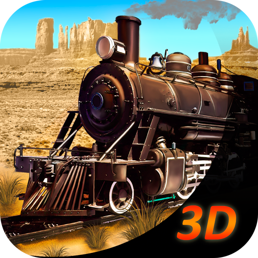 Wild West Train Simulator 3D