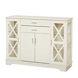 Target Marketing Systems 30110AWH Kendall Buffet Antique White